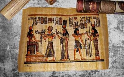 древний коврик для мыши